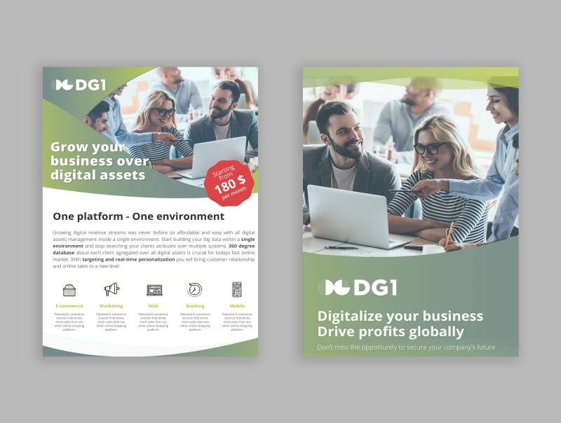 DG1 Website and mobile app