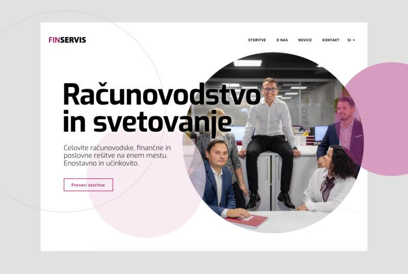 Fin-servis website