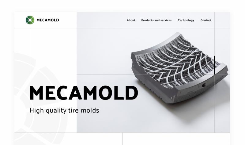 Mecamold website